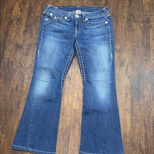 True Religion Joey a super T petite jeans